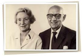 Dr. Emil Vodder en zijn echtgenote