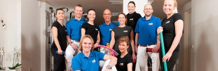 Het team van Fysiotherapie de Neve & van Alphen